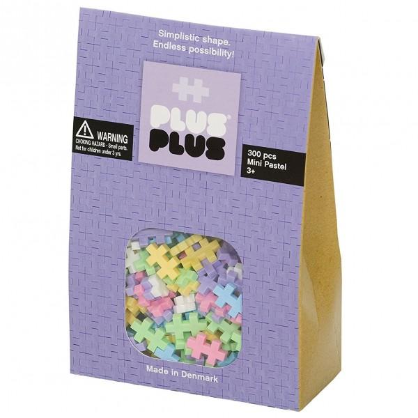 Plus-Plus Mini Pastel: 300 Bausteine