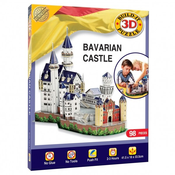 Cheatwell Build-It 3D: Schloss Neuschwanstein