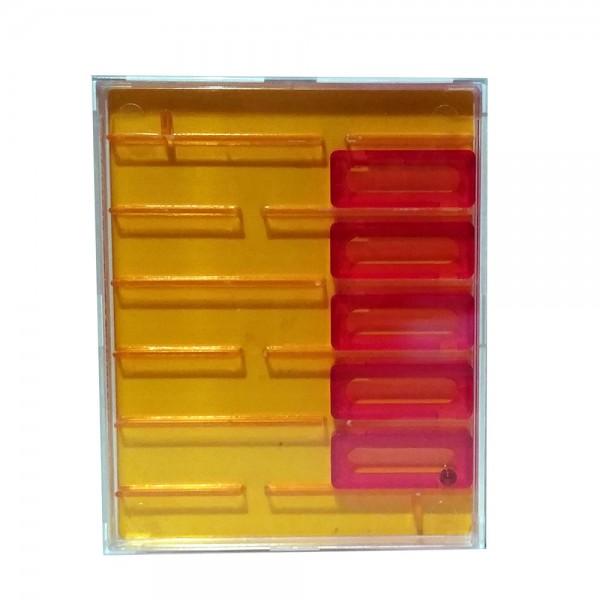 """Geduldspiel """"Mini Game"""" neon orange"""