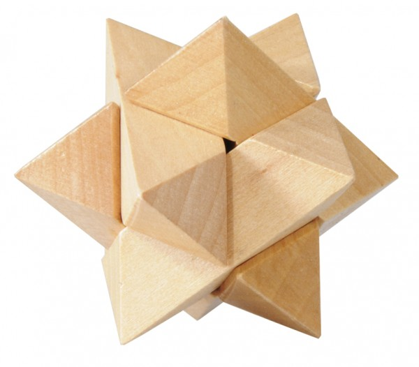 "Holzpuzzle ""Stern"""