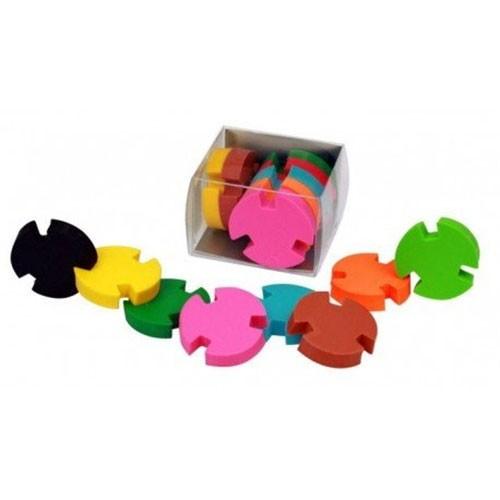 Radierer Puzzleteile 8er-Set