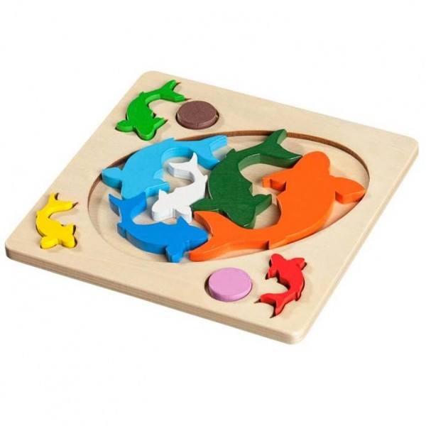 Fish Playing, Legepuzzle