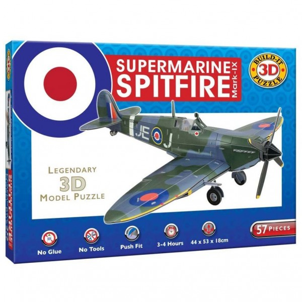Cheatwell Build-It 3D: Supermarine Spitfire