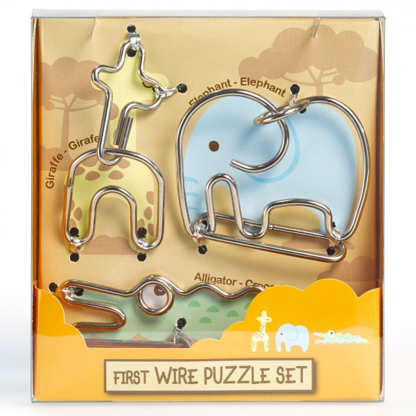 "First Wire Puzzle Set ""Animal 2"""