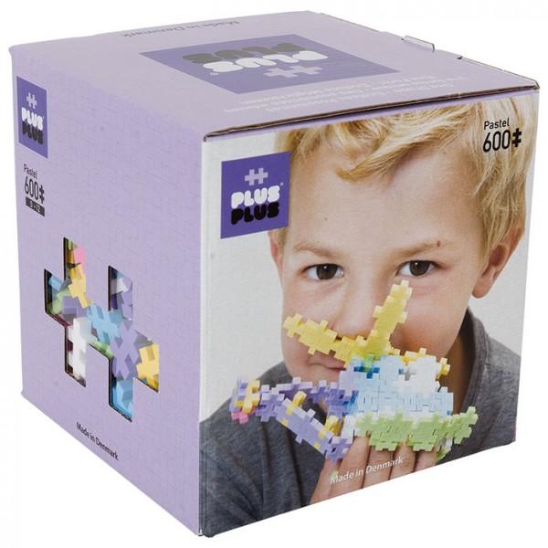 Plus-Plus Mini Pastel: 600 Bausteine